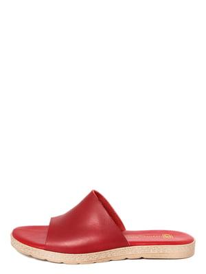 Шлепанцы красные | 4231764