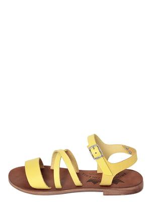 Сандалии желтые | 4234367