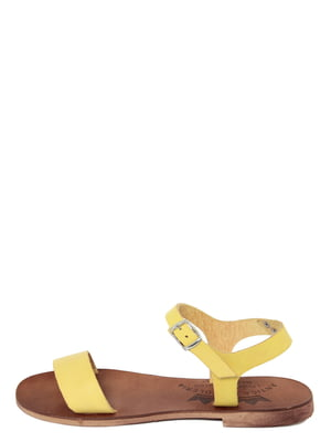 Сандалии желтые | 4234382