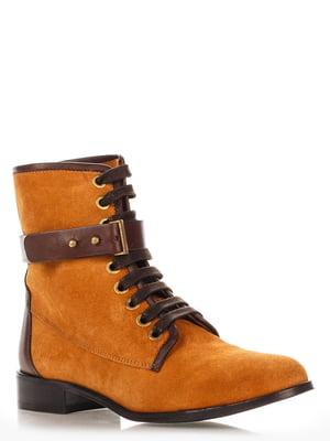 Ботинки рыжего цвета | 3238767