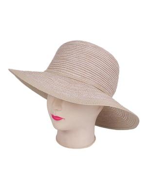 Шляпа бежевая | 4236024