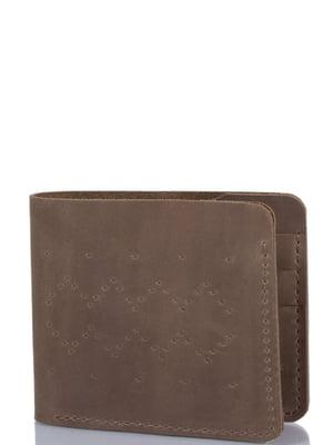 Гаманець сіро-коричневий | 4236061