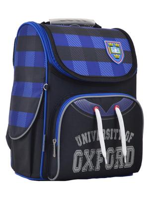 Рюкзак чорно-синій | 4235625