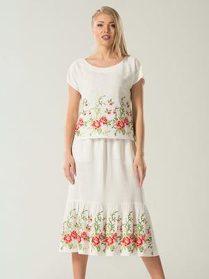 Костюм: блуза и юбка   4224089