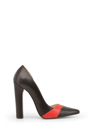 Туфлі чорно-червоні | 4228904