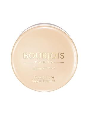 Пудра розсипчаста Poudre Libre - №02 - бежево-рожевий (32 г) - Bourjois - 4238408