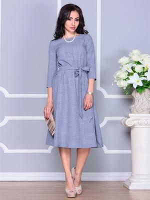 Сукня кольору фіолетового серпанку | 4238461