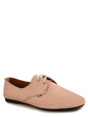 Туфли цвета пудры | 4238222