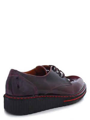 Туфли бордовые | 4238238