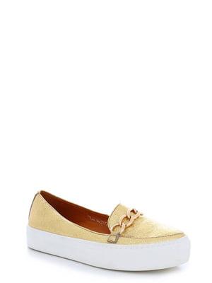 Туфли золотистые | 4238240