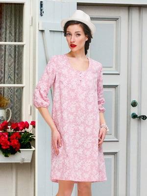 Платье розовое | 4238612