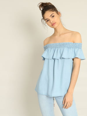 Блуза голубая | 4235903