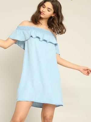 Платье голубое | 4235929