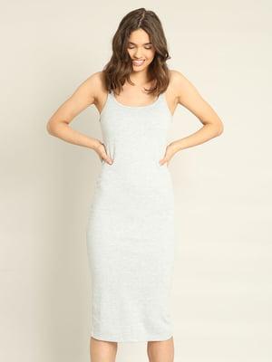Платье серое | 4235941
