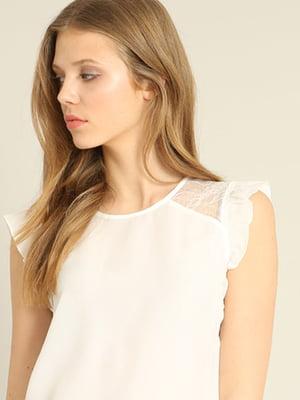 Блуза белая   4241908