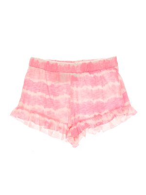 Шорти рожеві в принт | 4235205