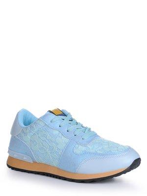 Кроссовки голубые | 4242921