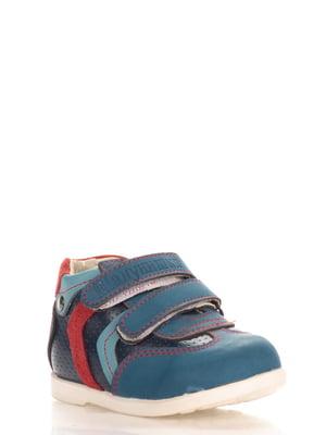 Кроссовки синие | 3902673