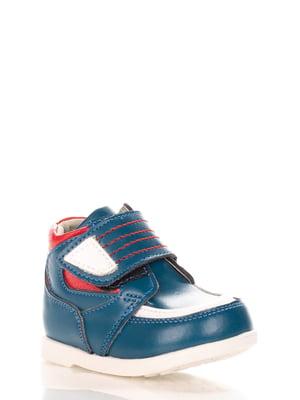 Ботинки синие | 4229280