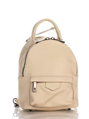 Рюкзак бежевый | 4241654