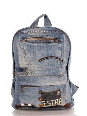 Рюкзак цвета джинса | 4241816