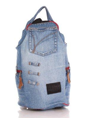 Рюкзак кольору джинсу | 4241838