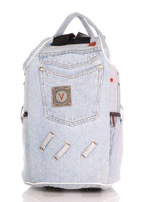 Рюкзак цвета светлого джинса | 4241839