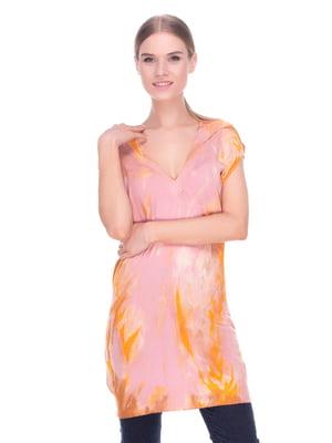 Туніка рожево-помаранчева | 4235074