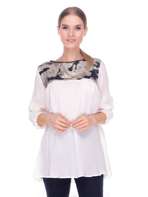 Блуза молочна | 4235092