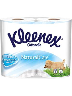 Туалетний папір Natural Care (4 рулони) | 4246100