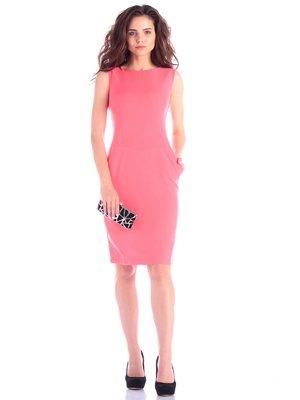 Платье светло-коралловое | 4246221
