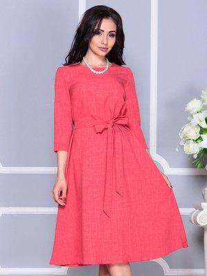 Платье цвета красный коралл | 4246228