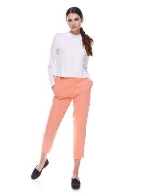 Брюки персикового цвета | 2784150