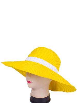 Капелюх жовтий | 4247608