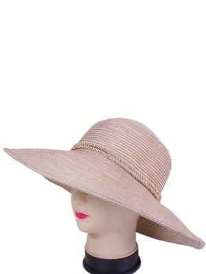 Шляпа бежевая | 4247609