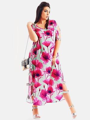 Сукня в квітковий принт | 4220243