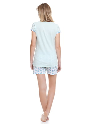 Пижама: футболка и шорты   4249184