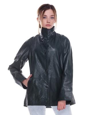 Куртка смарагдового кольору | 4246856