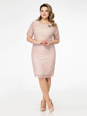 Платье розовое | 4252617