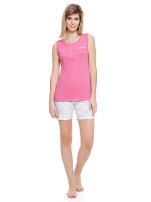 Пижама: майка и шорты | 4249190