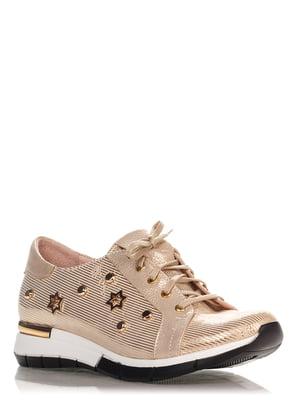Кросівки золотистого кольору | 4252850