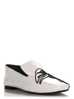 Лоферы белые | 4252825