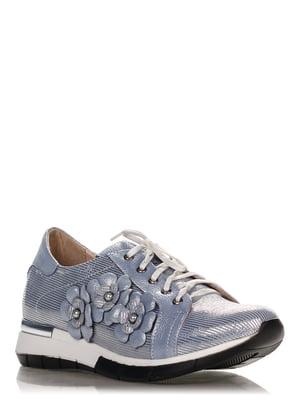 Кроссовки голубые | 4252849