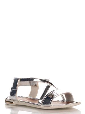 Сандалії сріблясті | 4252662