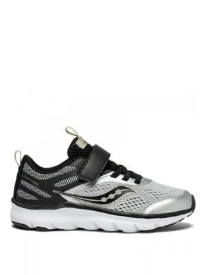 Кроссовки серебристо-черные Liteform Miles A/C | 4249491