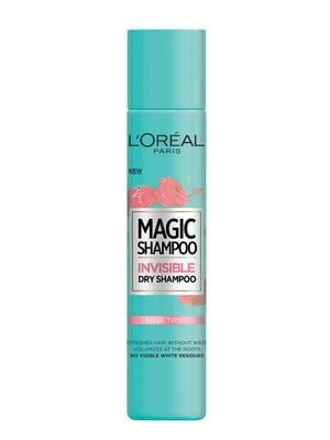 Шампунь сухий Magic Shampoo «Спокуса троянди» для всіх типів волосся (200 мл) - L'Oréal Paris - 4253451