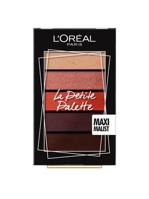 Палітра тіней для повік La petit palette, відтінок 1 - Maximalist (5x0,80 г) | 4253460