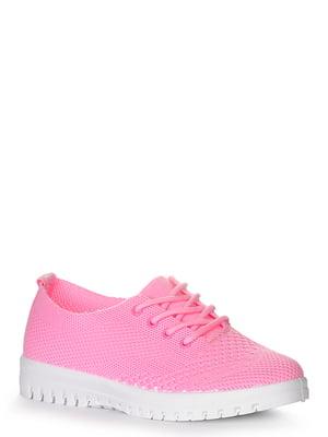 Кроссовки розовые | 4248364