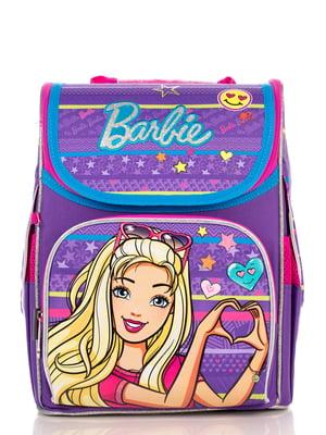 Рюкзак фіолетовий з принтом | 4235633