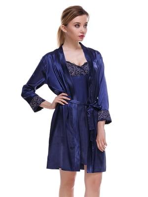 Комплект: сорочка нічна та халат | 4254403